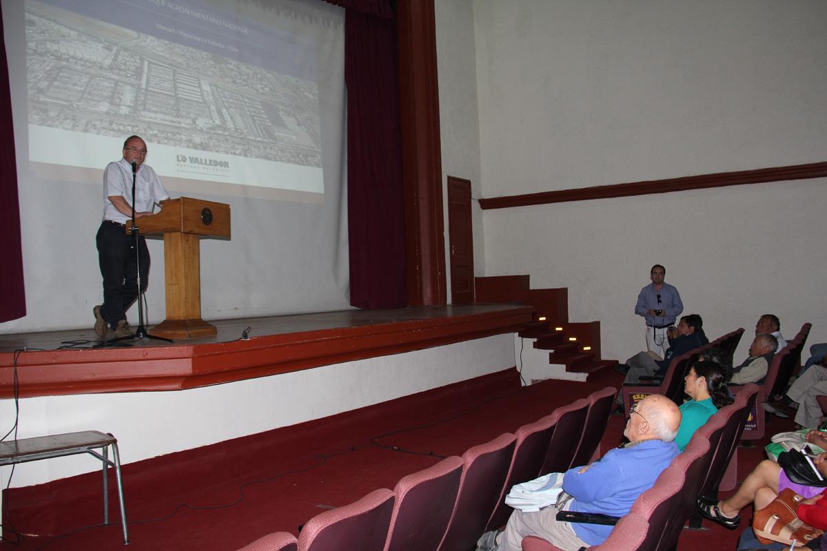 Photo of Buscan mejorar procesos agrícola con expertos del Mercado Mayorista de Lo Valledor