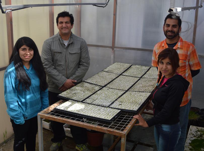 Photo of Estudiantes de la Escuela Familiar Agrícola del Valle de Elqui realizan práctica en CEAZA