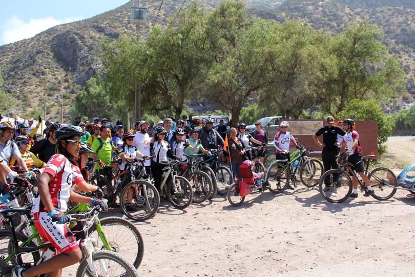 """Photo of """"Elqui Pedaleable"""" realiza su primera ruta de reconocimiento entre El Molle y Puclaro"""
