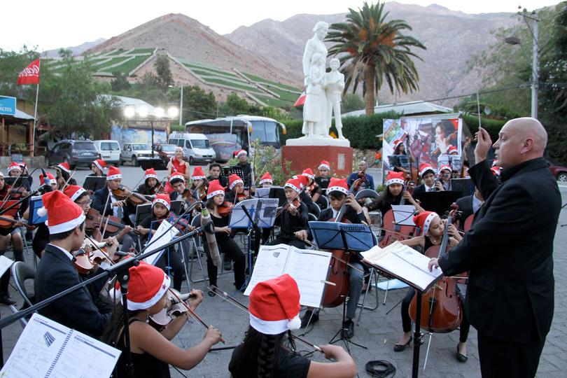Photo of Más de cien niños beneficiados con fondos del Gobierno Regional brindan concierto navideño en Montegrande