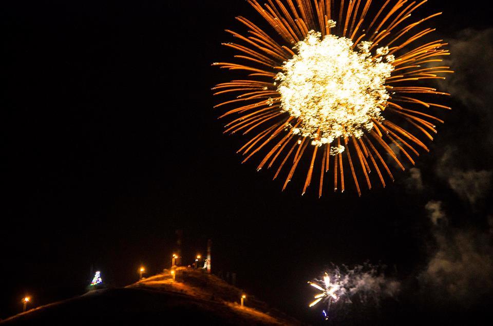 Photo of En Vicuña, Talcuna y Rivadavia se vivió la llegada del 2016 con fuegos artificiales