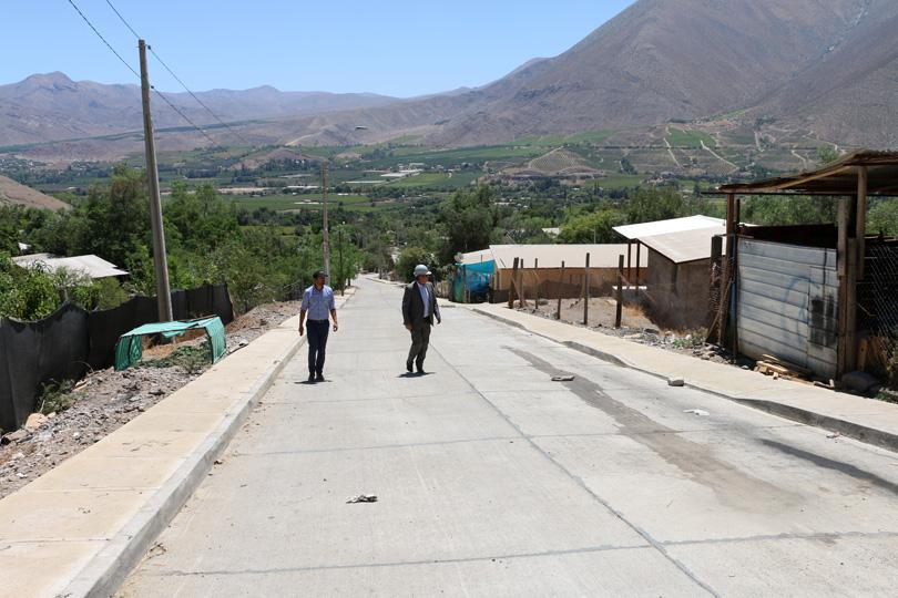 Photo of Evalúan positivamente proceso de pavimentación en la comuna de Vicuña
