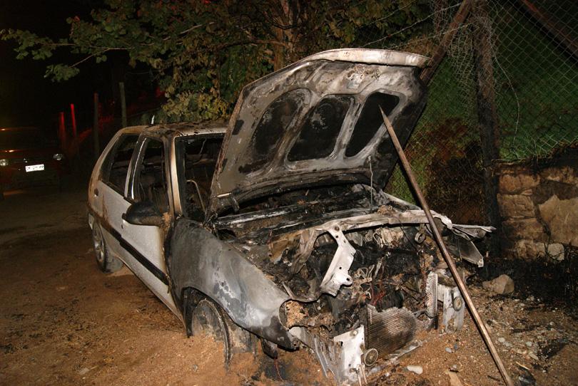 Photo of Investigan incendio de automóvil en sector Quebrada La Greda en Pisco Elqui