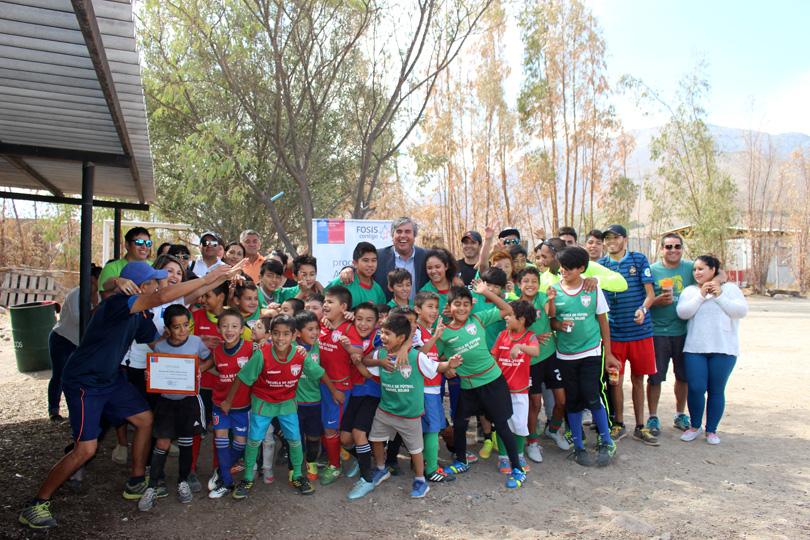 Photo of Escuela de fútbol Nahuel Rojas obtiene financiamiento de proyecto deportivo del FOSIS