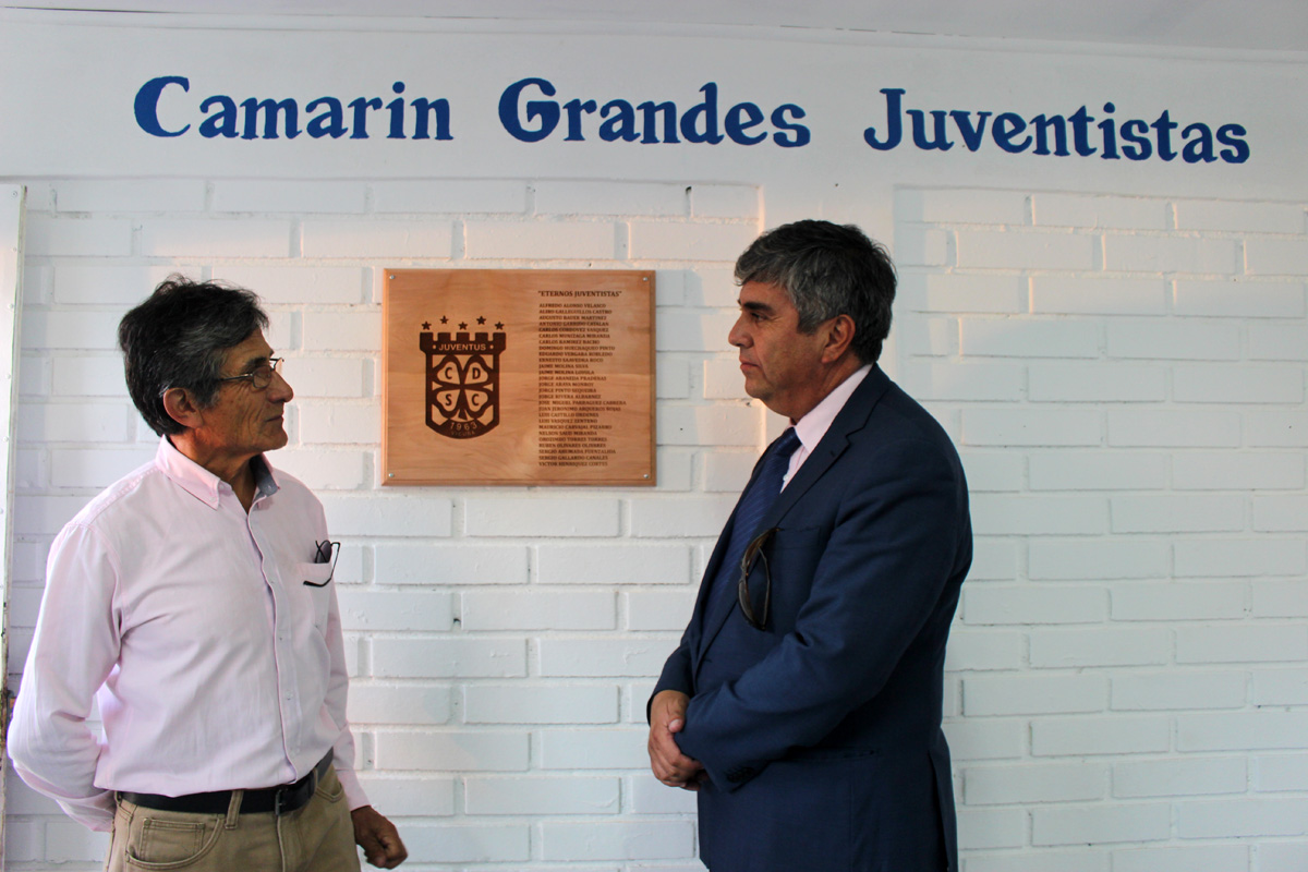 Photo of CD Juventus de Vicuña recuerda a sus jugadores fallecidos con placa en camarines
