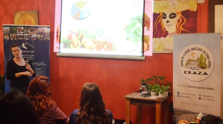 Photo of Café científico en Vicuña: Uso de microorganismos en agricultura genera interés en los asistentes