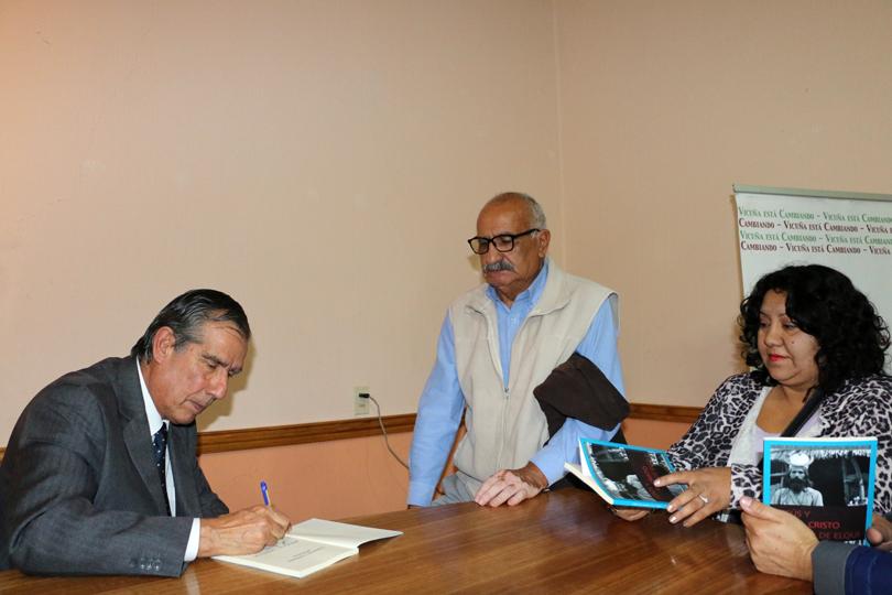 """Photo of Presentan libro """"Jesús y el Cristo de Elqui"""" de escritor vicuñense Edmanuel Ferreira"""