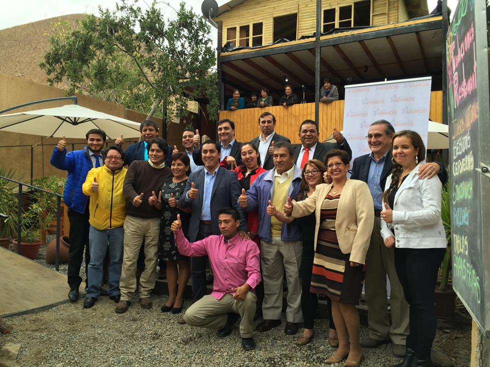 """Photo of """"ChileVamos"""" presenta candidatos para municipales 2016 en la comuna de Paihuano"""