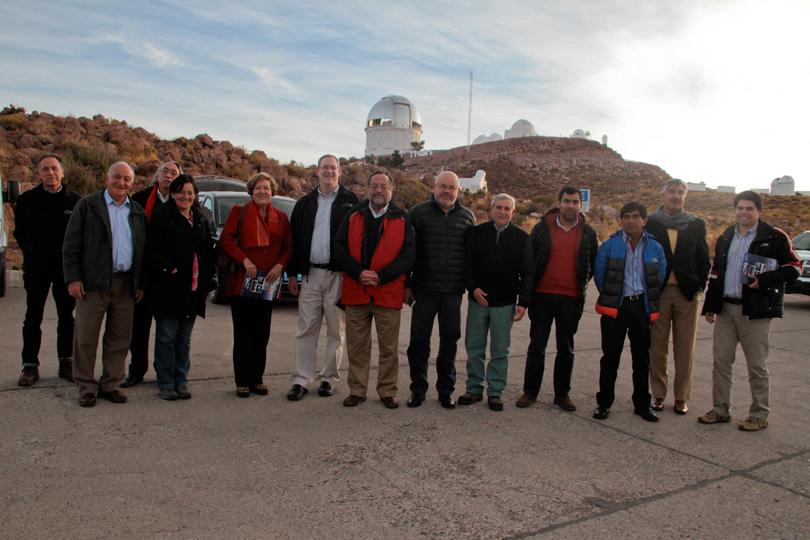 Photo of CORE visita observatorio Cerro Tololo y manifiesta preocupación por contaminación lumínica