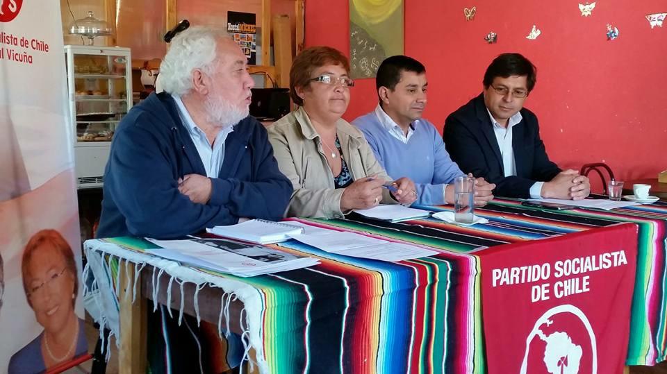 Photo of Partido Socialista presenta sus candidatos a concejales para las municipales 2016 en Vicuña