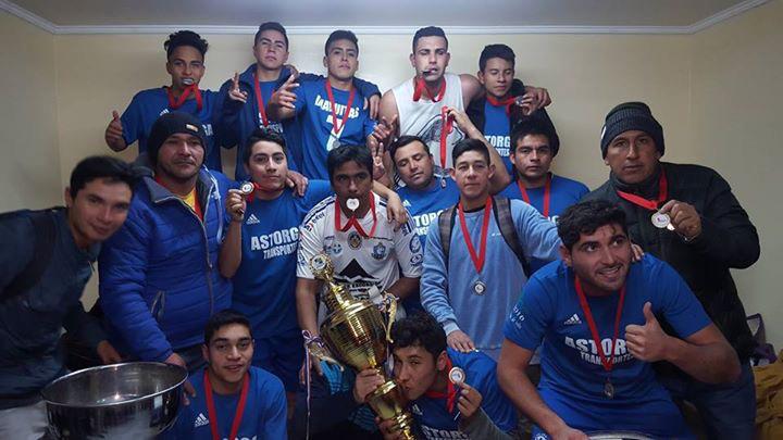 Photo of Club Deportivo Diaguitas se coronó campeón del torneo de apertura de ANFA Vicuña