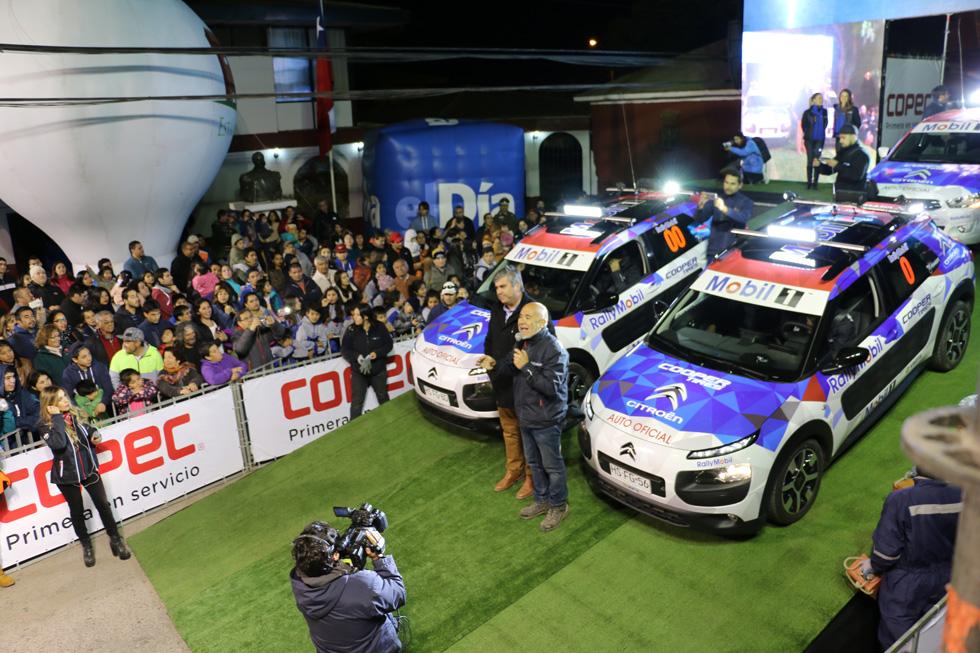 Photo of RallyMobil tuvo su inicio de fiesta con la Largada Protocolar en el frontis de la Municipalidad de Vicuña