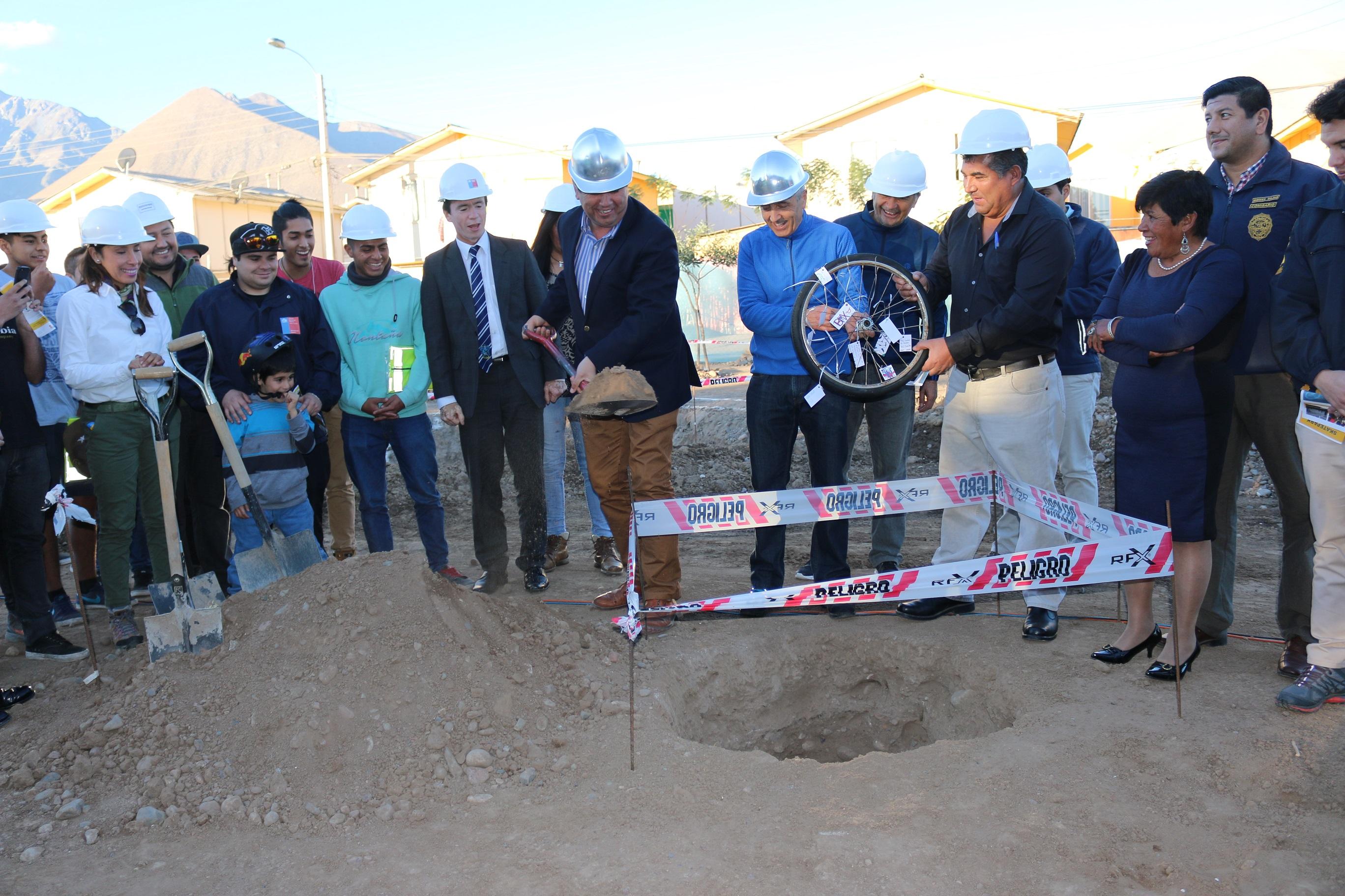 Photo of Comienza construcción de primer SkatePark para Vicuña