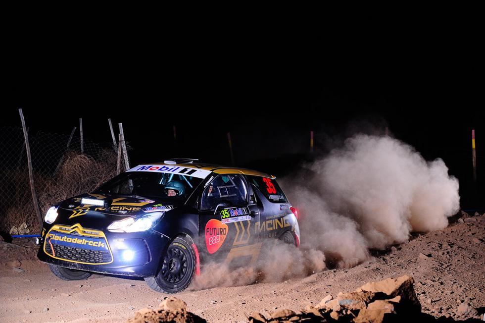 Photo of José Miguel Hernández sufrió para ganar con el auto del rock en el RallyMobil de Vicuña