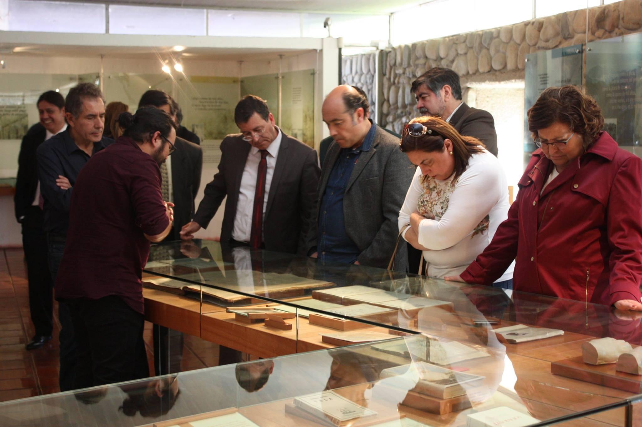 Photo of Representantes de la red de «Ciudades Mistralianas» visitan museo DIBAM de Vicuña