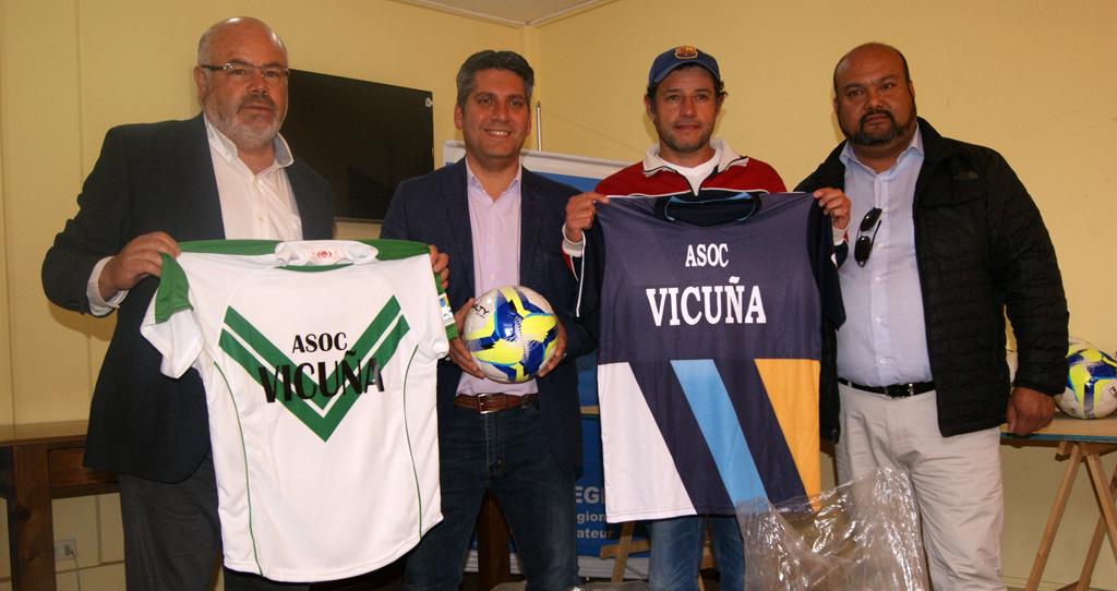 Photo of ANFA  recibe millonaria implementación deportiva de parte del Gobierno Regional