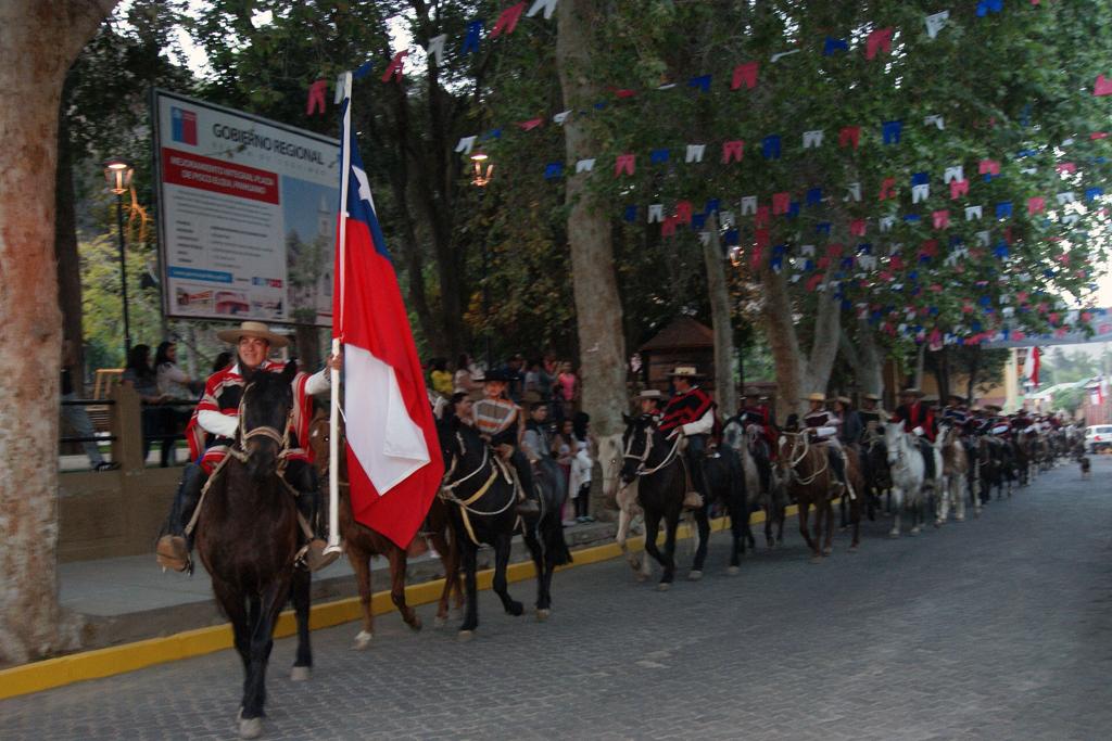 Photo of Club de Huasos Estero Derecho deleitan al público de Pisco Elqui con esquinazo