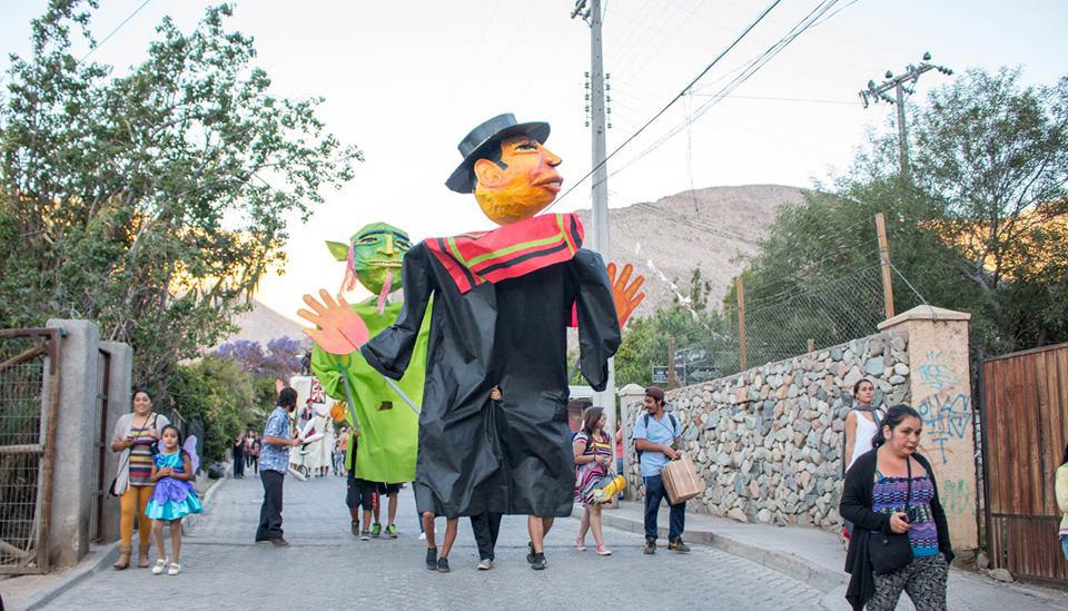 Photo of Más Cultura en tu Barrio vistió de fiesta al sector de Chanchoquí en Paihuano