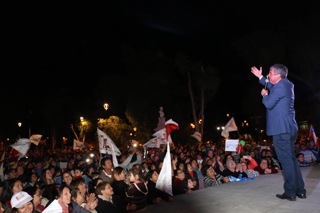 Photo of Rafael Vera triunfa en las elecciones de Vicuña y asegura su reelección por cuatro años más