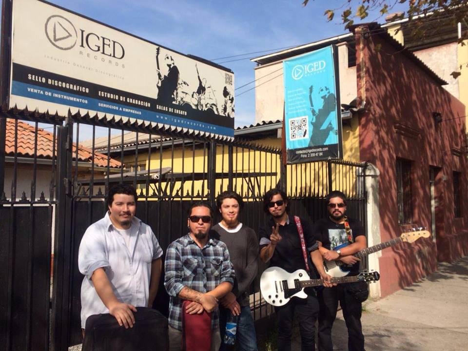 """Photo of """"Yo y Mi Banda"""" graban su primer disco en Santiago con  sello IgedRecords"""