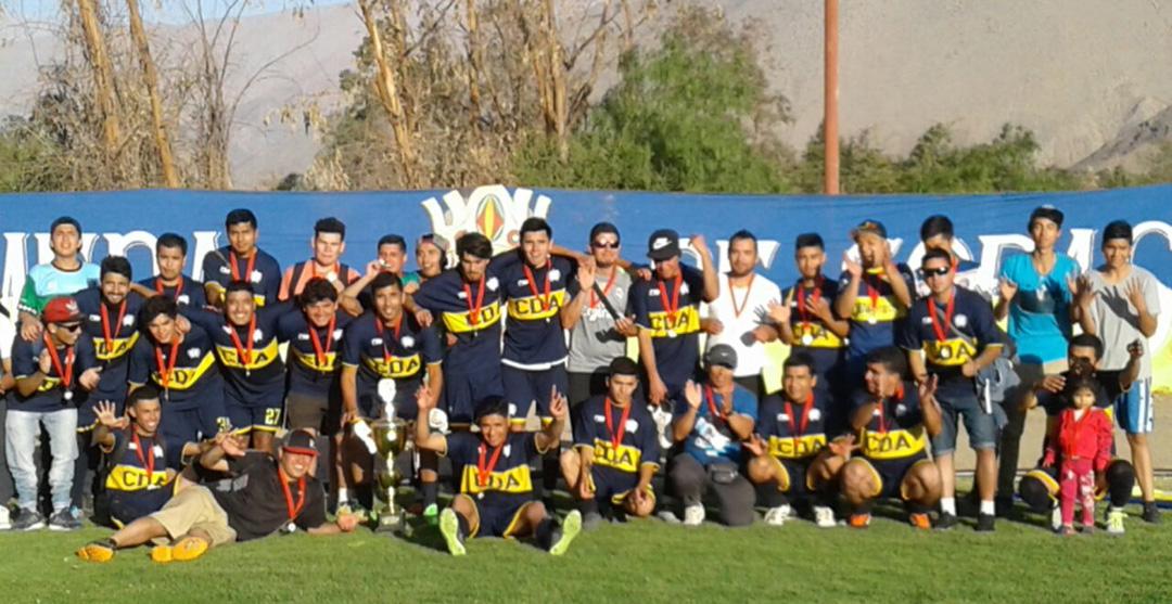 Photo of CD Alameda se convirtió en el campeón del Torneo de Clausura de ANFA de Vicuña