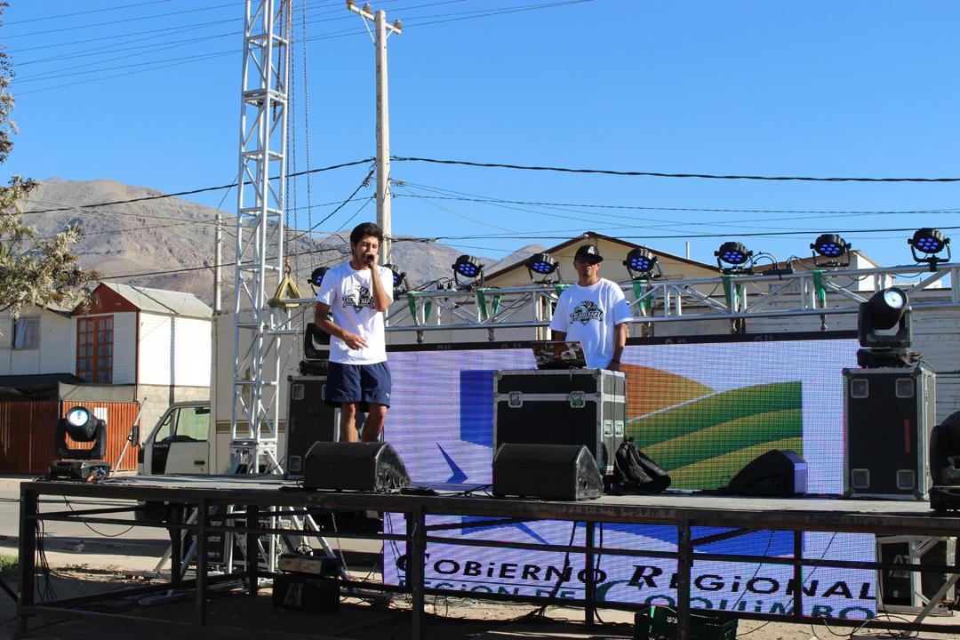 """Photo of Jóvenes de Vicuña y la región participaron de """"Encuentro Provincial de Rap y Hip Hop"""""""