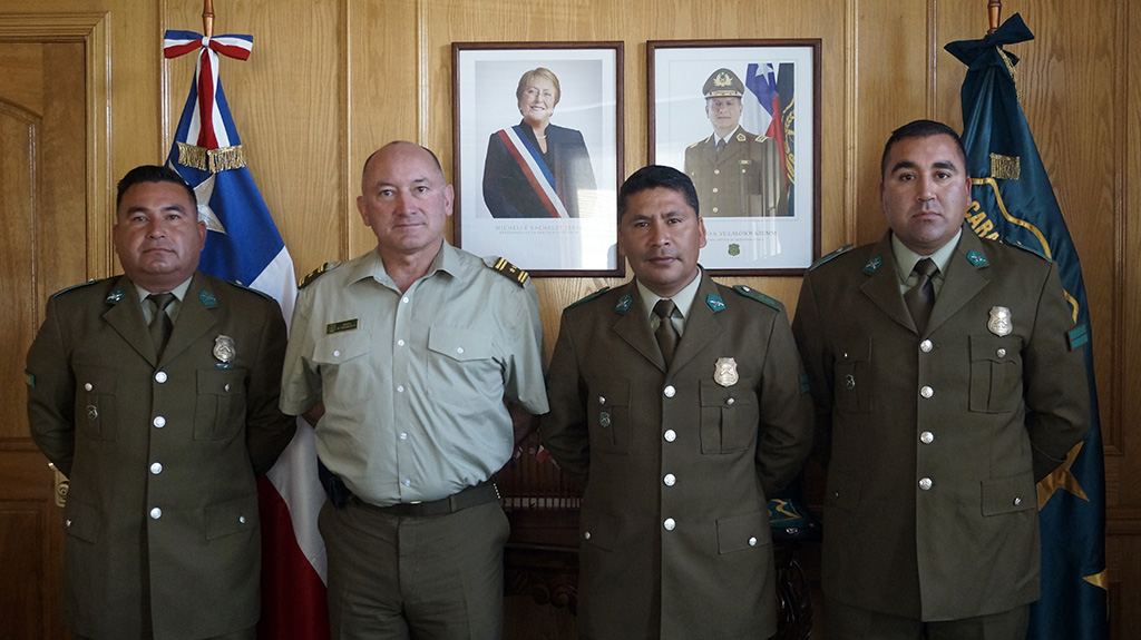 Photo of Carabineros de Vicuña reciben reconocimiento del jefe de zona tras procedimiento exitoso