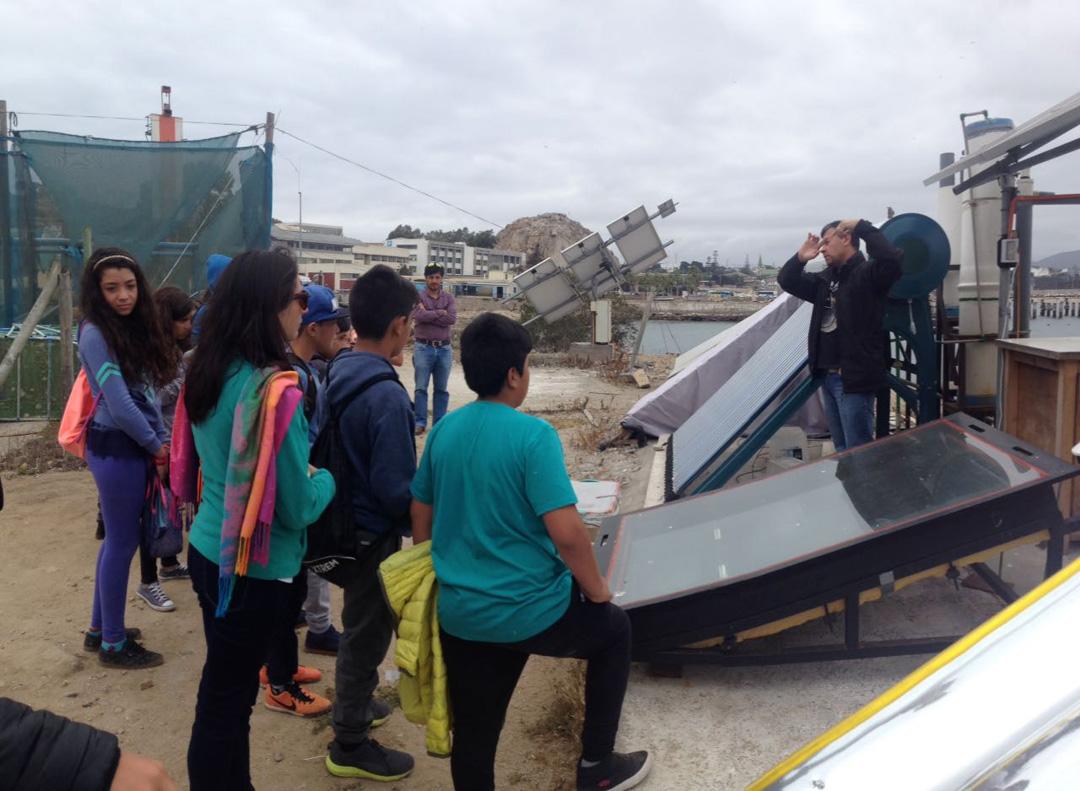 Photo of Estudiantes de Escuela básica Jerónimo Godoy Villanueva de Pisco Elqui visitaron centros de estudio de UCN  y ULS