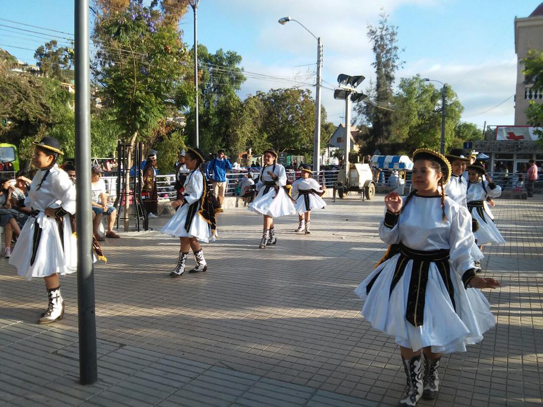Photo of Grupo de baile de la localidad de Montegrande se presentó en tradicional fiesta de Andacollo