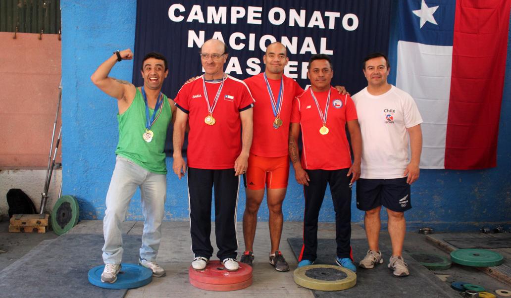 Photo of Vicuña ganó Campeonato Nacional Máster de Halterofilia en varones y damas