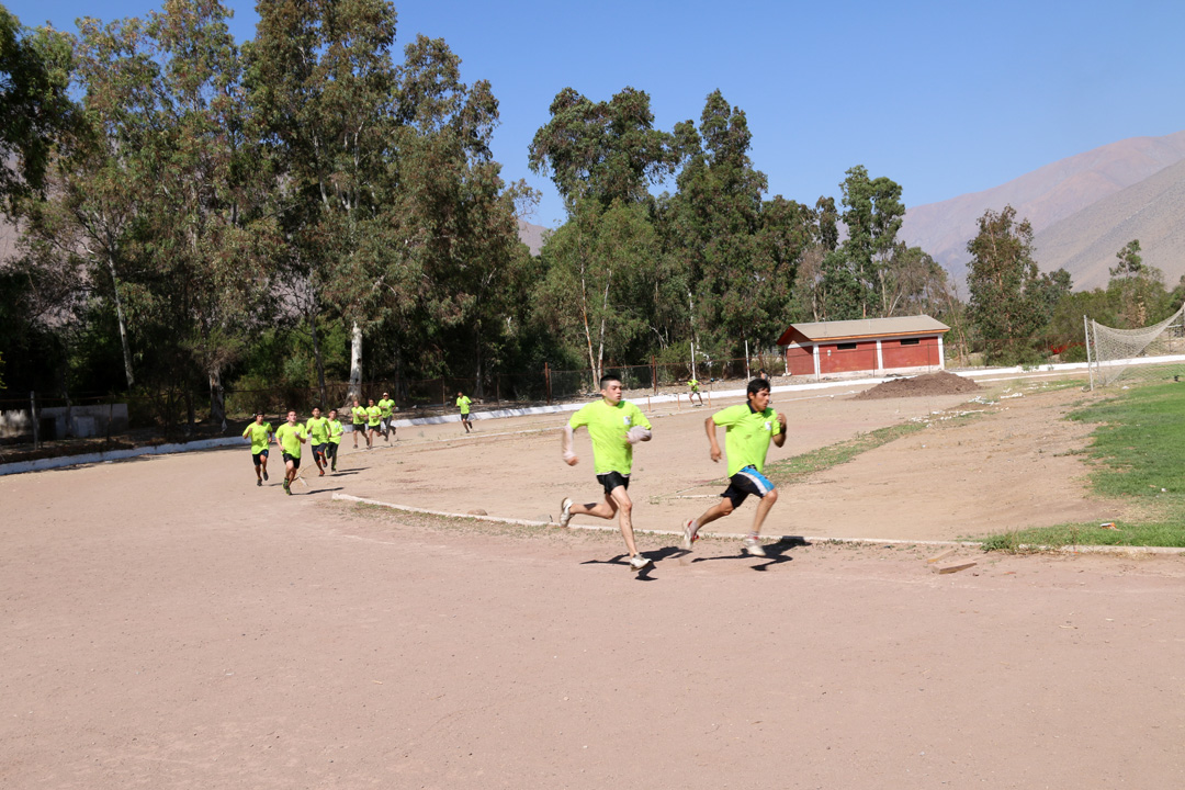 Photo of I Carrera Espartana de Vicuña reunió a jóvenes elquinos en torno al deporte
