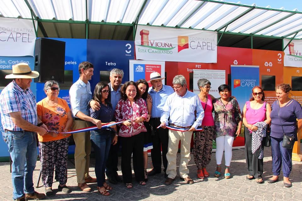 Photo of Inauguran tercer Punto Limpio de la región en la comuna de Vicuña