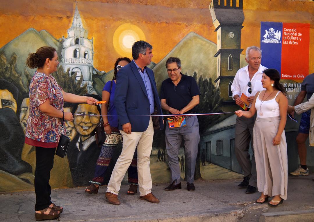 """Photo of Inauguración de """"Murales con Identidad"""": El arte que embellece las calles de Vicuña"""