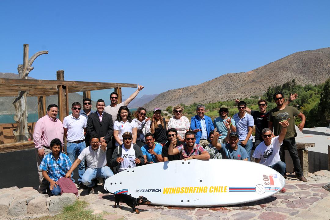 Photo of Buscan generar un desarrollo turístico del embalse Puclaro a través de la práctica de los deportes