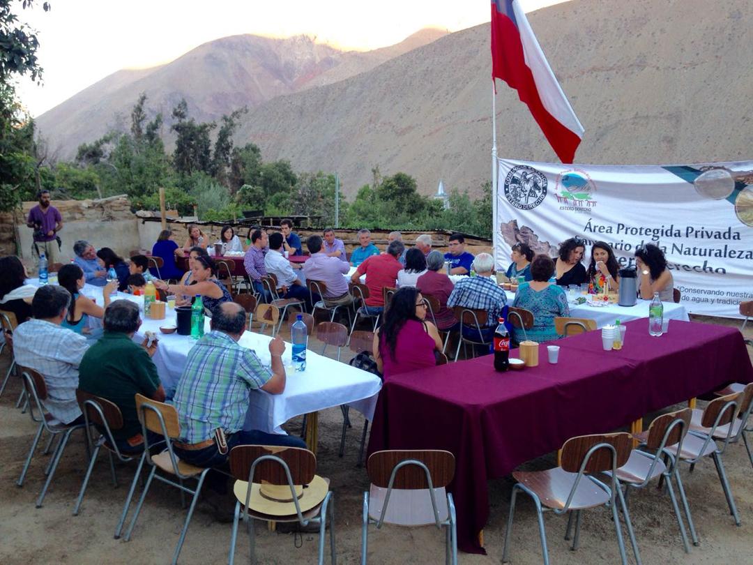 Photo of Proyecto de difusión de Santuario de la Naturaleza Estero Derecho finaliza con tertulia con la comunidad