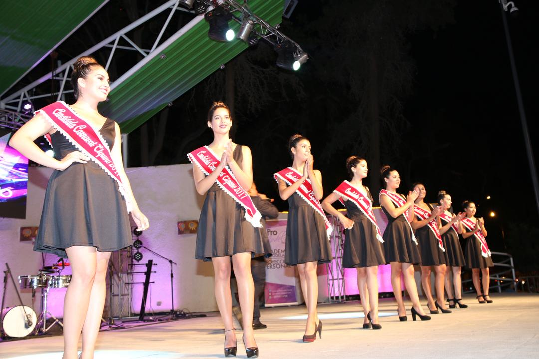 Photo of Cantantes locales y candidatas a reina se presentaron en la Noche del Artista Vicuñense