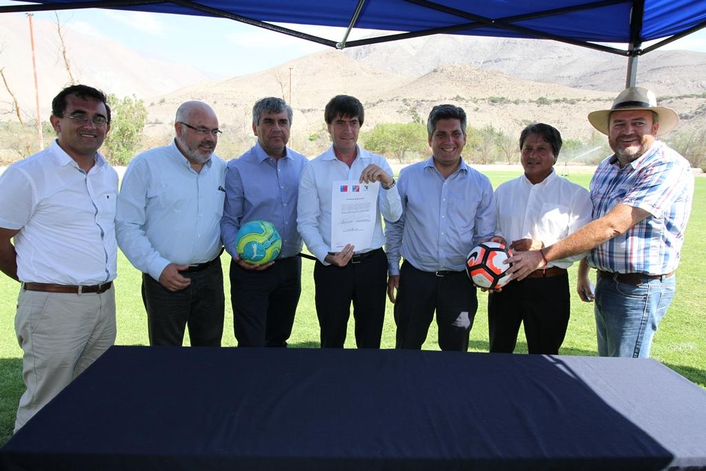 Photo of Vecinos de Vicuña contarán con nuevo estadio el 2018