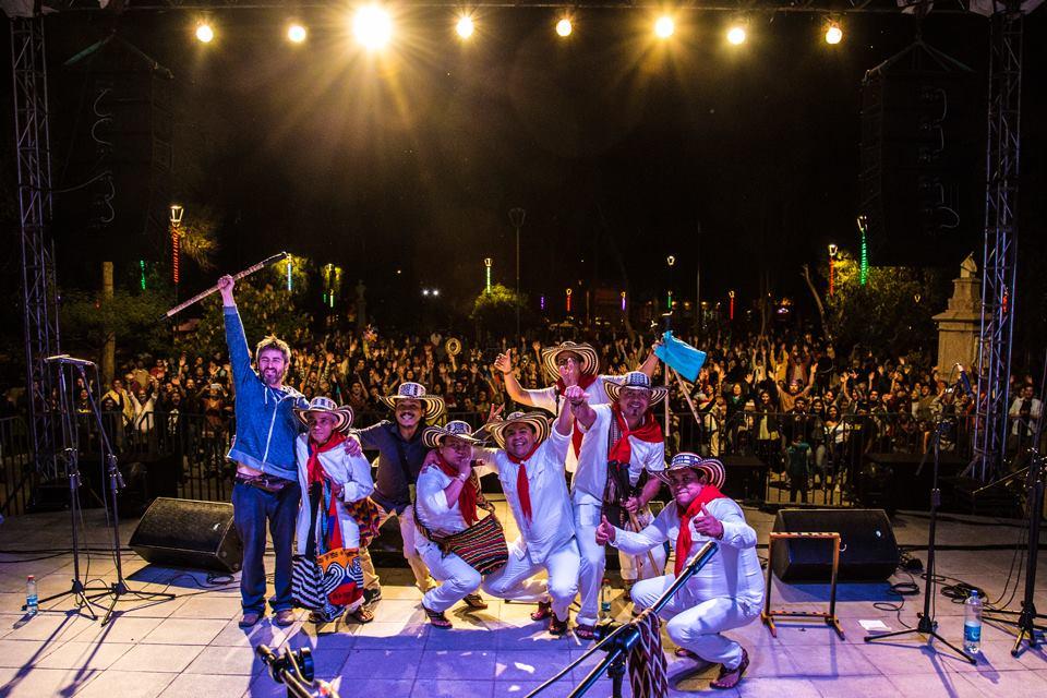 Photo of Los Gaiteros de San Jacinto dieron vida a la primera noche de Concert Valle en Vicuña