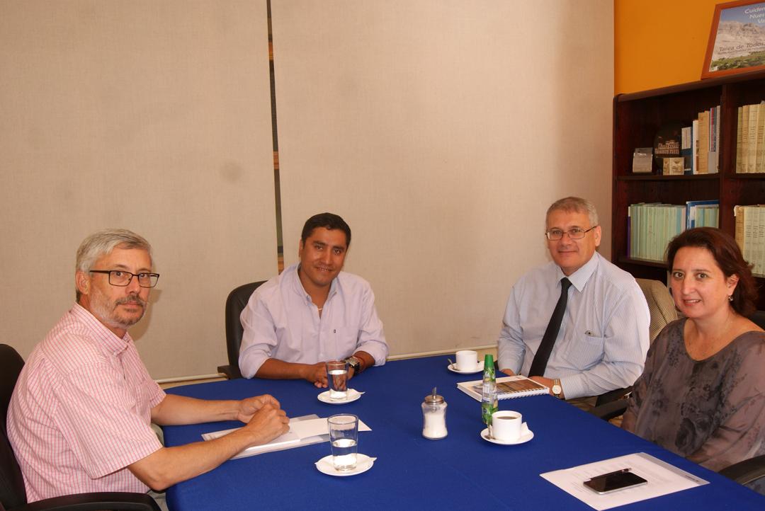 Photo of Alcalde Hernán Ahumada se reunió con representantes de Conafe para proyectos