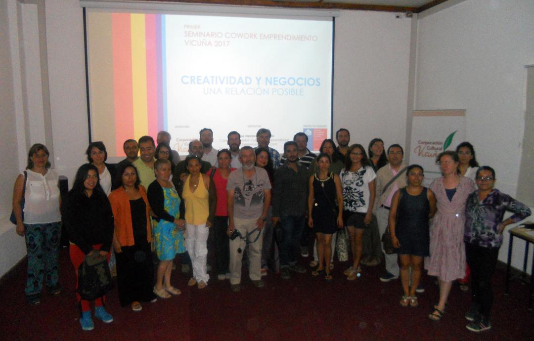 Photo of COWORK: Comienza Seminario y Taller de Emprendimiento Cultural y Creativo en Vicuña
