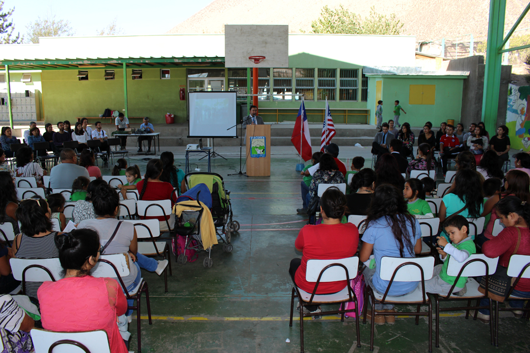 Photo of Escuela Edmundo Vidal Cárdenas destaca el 2016 en materias docentes y de aprendizajes