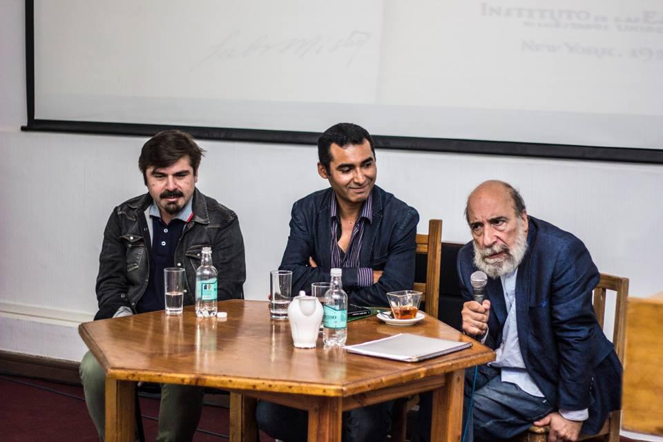 Photo of Raúl Zurita deleitó a los participantes con su testimonio y poesía en el Festival Mistraliano