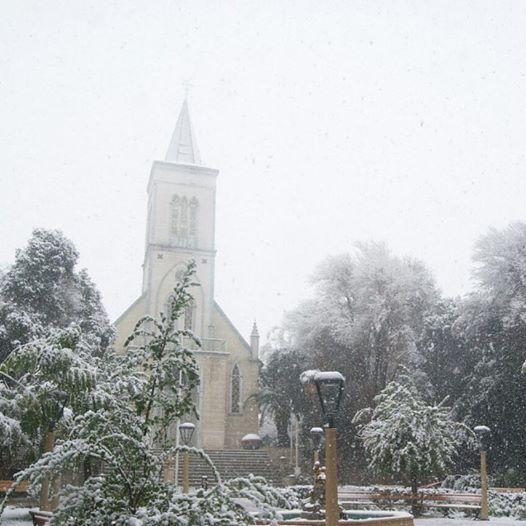 Photo of La nieve visitó nuevamente a localidades del Valle del Elqui