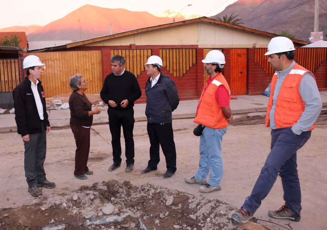 Photo of Luego de las lluvias evaluán realizar mejoras en nuevo colector de Sargento Aldea en  Vicuña