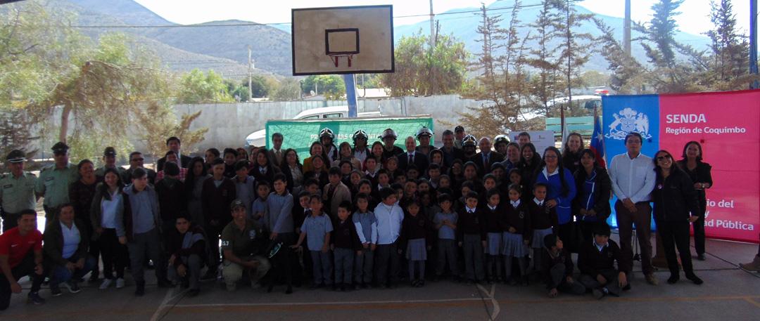 Photo of Escolares de Vicuña acceden a programas para prevenir el consumo de drogas y alcohol