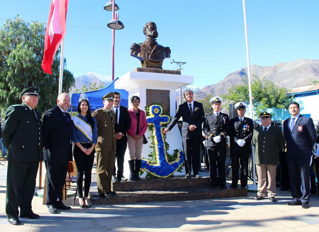 Photo of En Vicuña realizan tradicional acto y desfile en conmemoración de las Glorias Navales