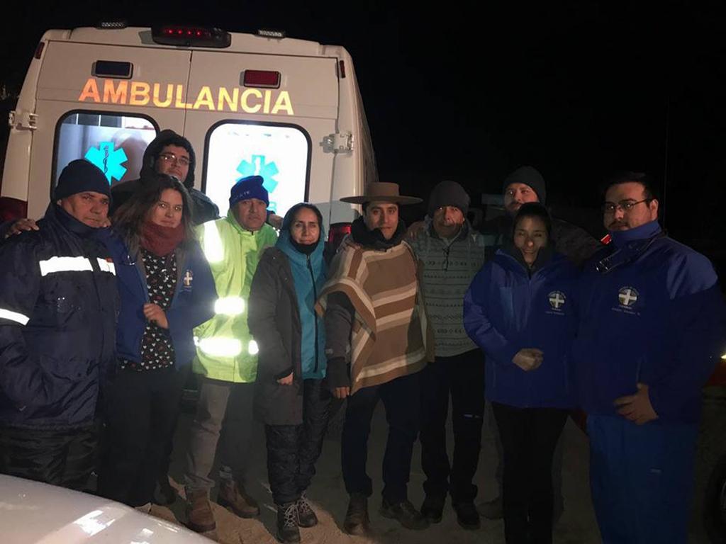 Photo of En la noche de este sábado fueron rescatados los arrieros perdidos en alta cordillera de Cochiguaz