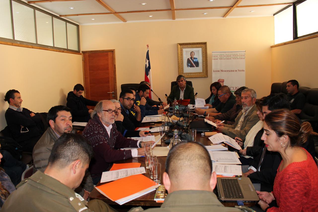 Photo of Proponen hacer campañas preventivas en Vicuña en IV Consejo Comunal de Seguridad Pública