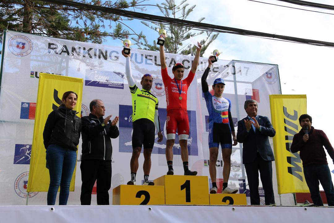 Photo of Alonso Camero del equipo Perú ganó la etapa de Vicuña del ranking Vuelta Ciclista de Chile 2017