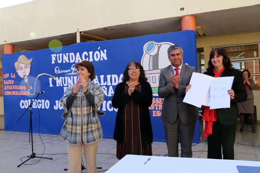 Photo of Colegio Joaquín Vicuña Larraín contará con radio y observatorio astronómico escolar